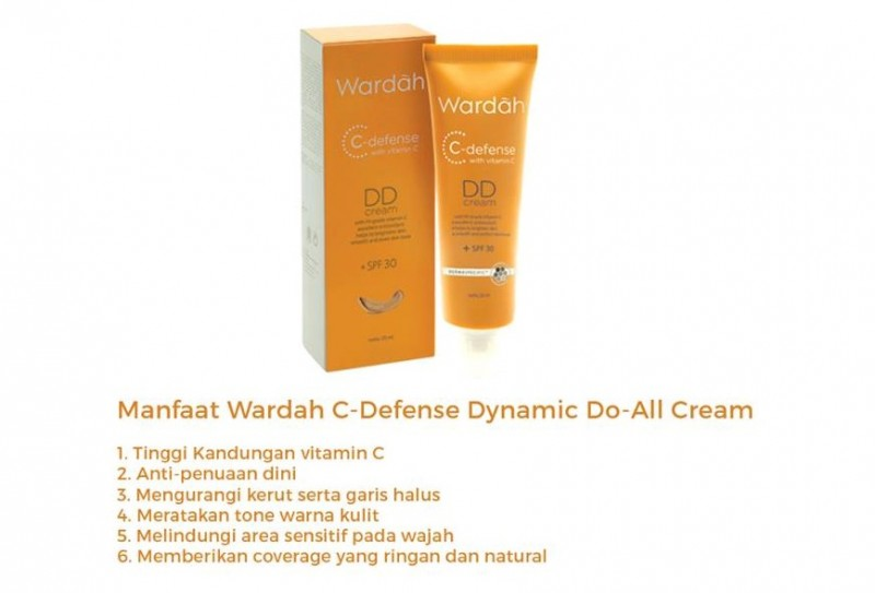 DD Cream Wardah