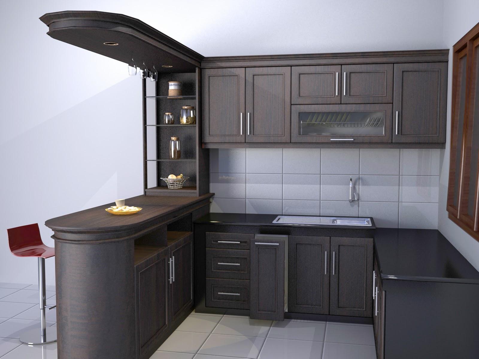 lemari dapur terbaru