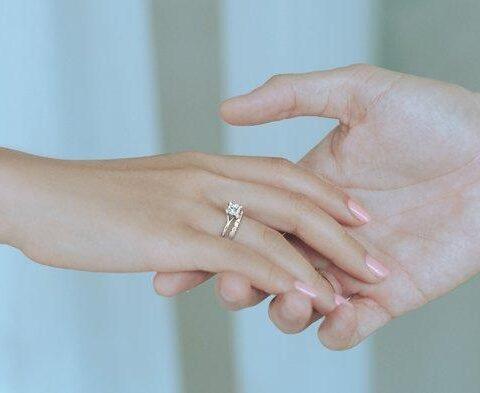 cincin nikah elegan